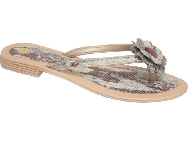 Tamanco Feminino Grendene 15749 Bege/marfim