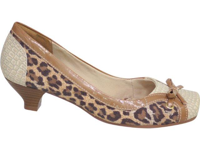 Sapato Feminino Dakota 1262 Avelã