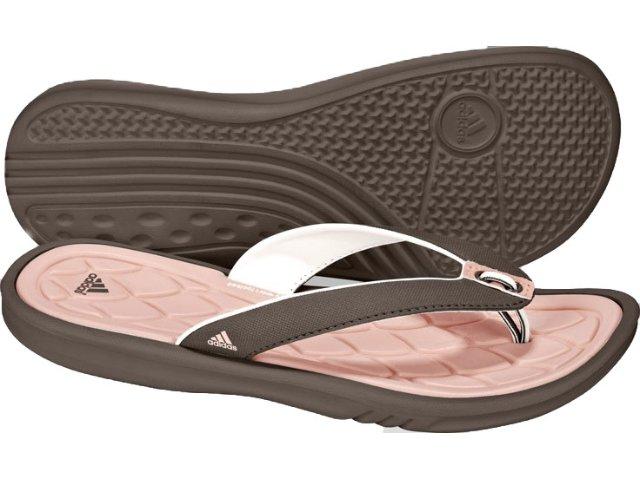 Chinelo Feminino Adidas G00423 Marrom/rosa