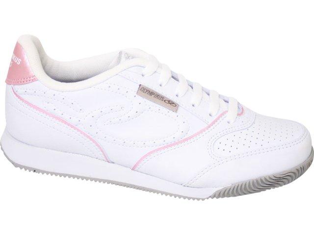 Tênis Feminino Olympikus Retrô 560 Branco/rosa