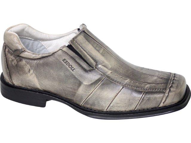Sapato Masculino Kedoll 3503 Palha