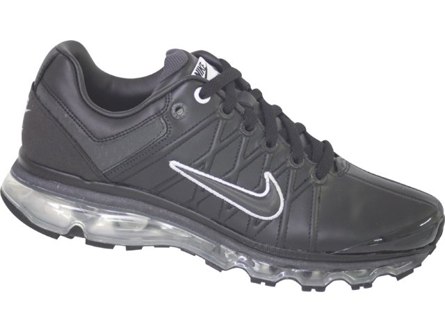 Tênis Masculino Nike Air Max Leather 366718-001 Preto