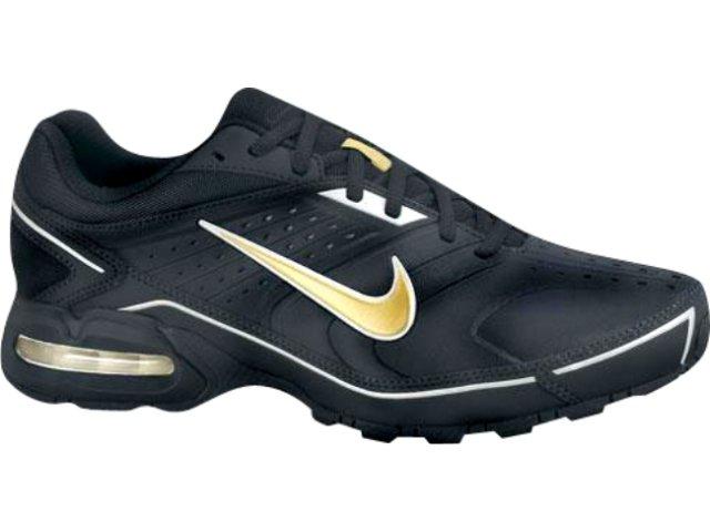 Tênis Masculino Nike Air Max Spears 349018-071 Preto/ouro