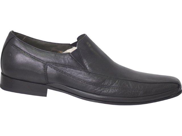 Sapato Masculino Democrata 360002 Preto