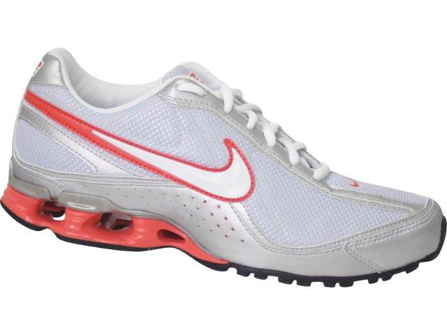 Tênis Feminino Nike 316517 Prata/salmão