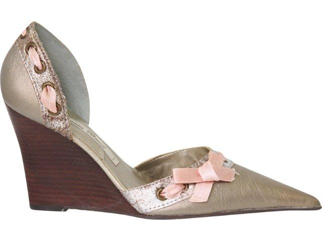 Sapato Feminino Tanara 6044 Prata Velha