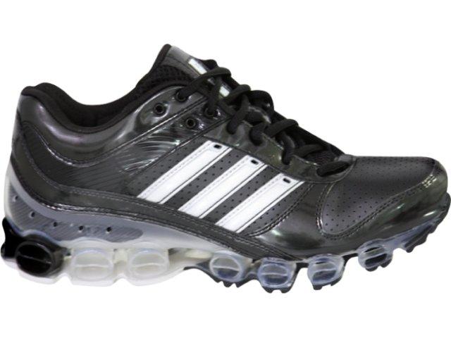 Tênis Masculino Adidas Microbounce 234949 Preto/cinza
