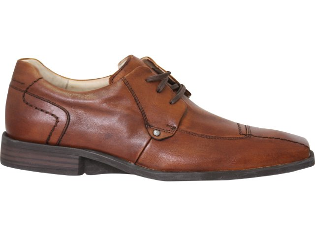 Sapato Masculino Ferracini 3325/1 Caramelo