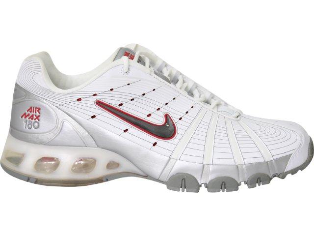Tênis Masculino Nike 314592 Branco/prata
