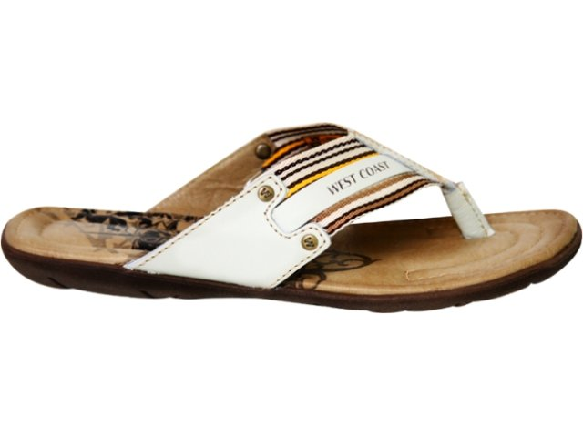 Chinelo Masculino West Coast  47609/0036 Off White