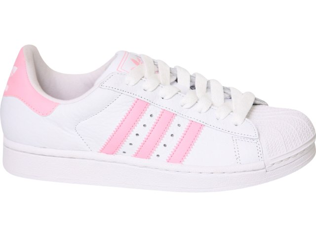 Tênis Feminino Adidas Star 2w G29802 Branco/rosa