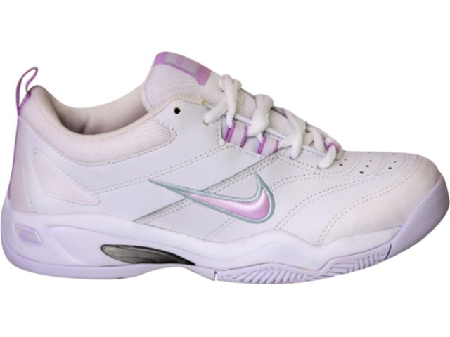 Tênis Feminino Nike 312546/1 Branco/rosa