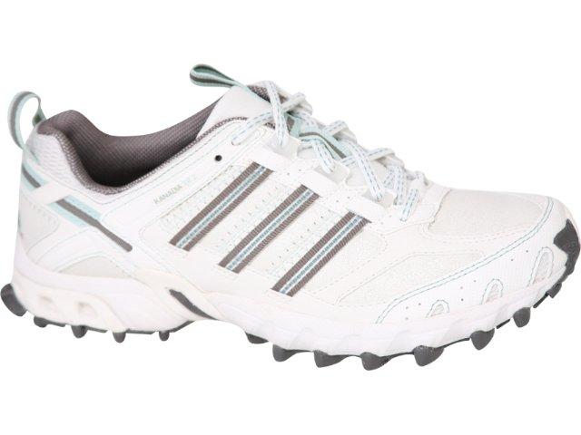 Tênis Feminino Adidas Kanadia G14308 Branco/verde