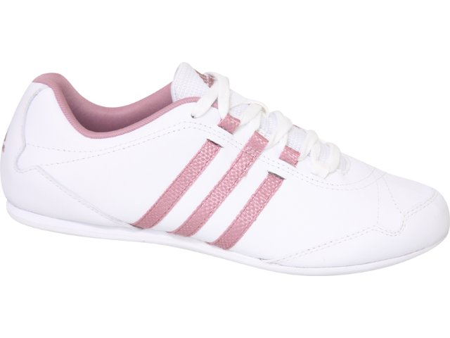 Tênis Feminino Adidas Yatra G15158 Branco/rosa