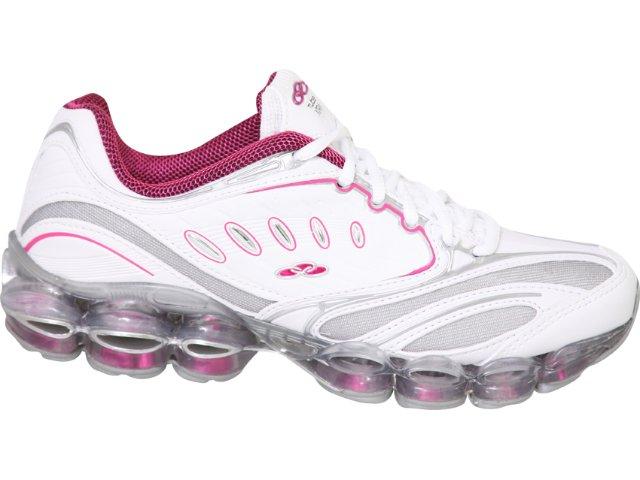 Tênis Feminino Olympikus Advance 596 Branco/pink