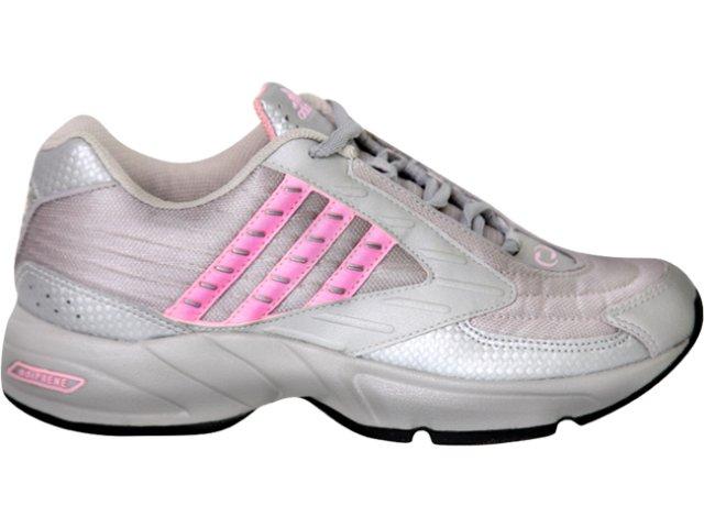 Tênis Feminino Adidas 444657 Cinza/rosa