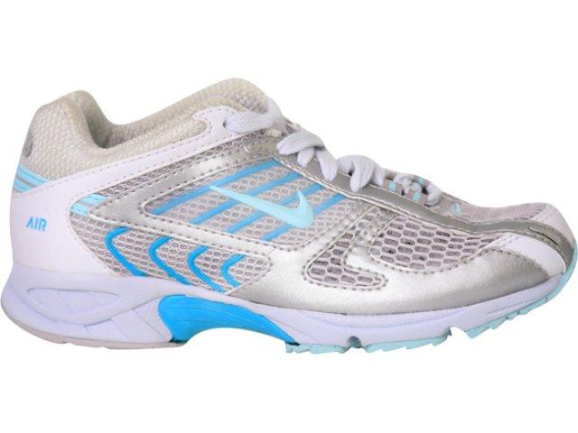 Tênis Feminino Nike 314754 Branco/turquesa