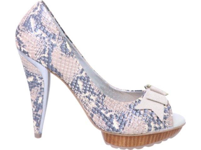 Sapato Feminino Tanara 0821 Fibra