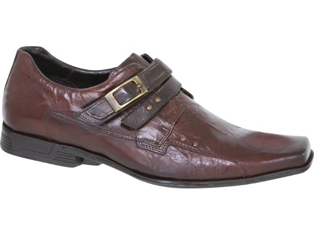 Sapato Masculino Ferracini 4453 Conhaque