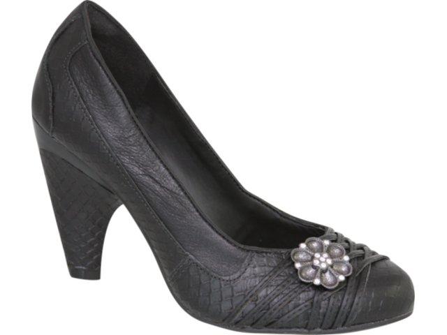 Sapato Feminino Tanara 0852 Preto