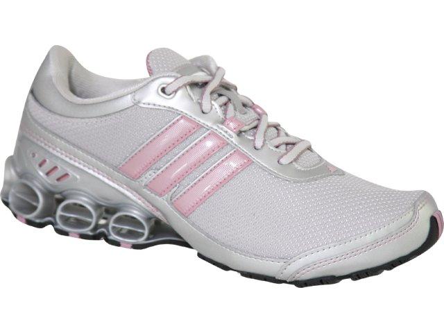 Tênis Feminino Adidas Shikoba G06054 Cinza/rosa