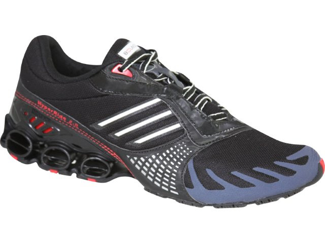 Tênis Masculino Adidas Hyperride G01547 Preto/vermelho