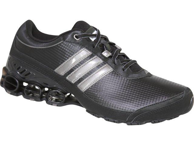 Tênis Masculino Adidas Shikoba G14611 Preto/prata Velha