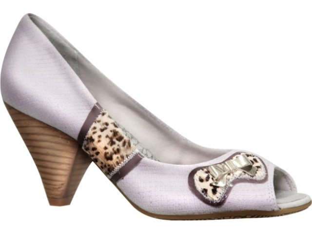 Sapato Feminino Ramarim 1016105 Gelo