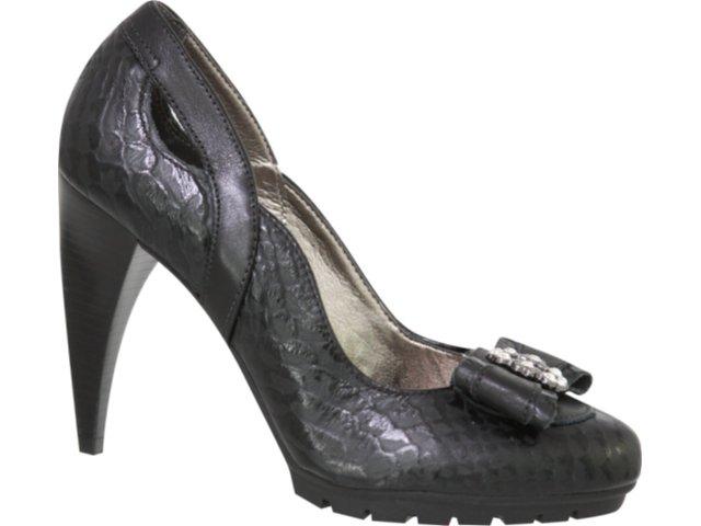 Sapato Feminino Tanara 0903 Preto