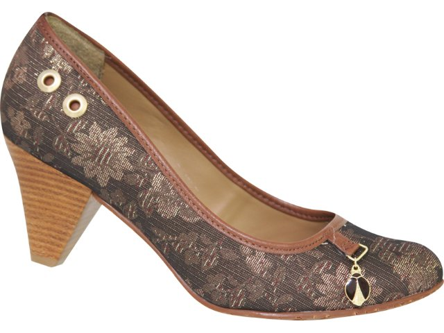 Sapato Feminino Cravo e Canela Cravo & Canela 58020/8156 Café