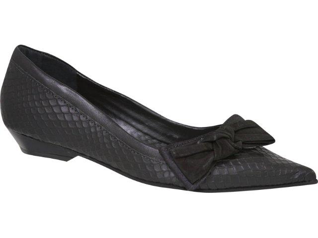 Sapato Feminino Tanara 1052 Preto