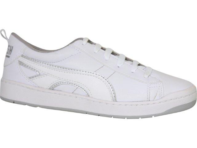 Tênis Feminino Kolosh 8111 Branco/prata