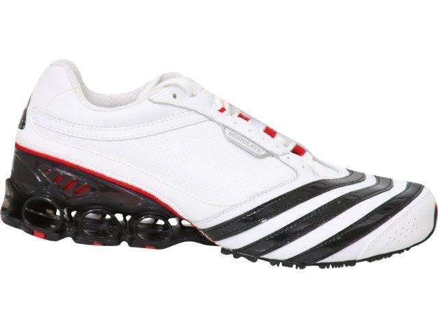 Tênis Masculino Adidas Modulate G09428 Branco/pt/vermelho