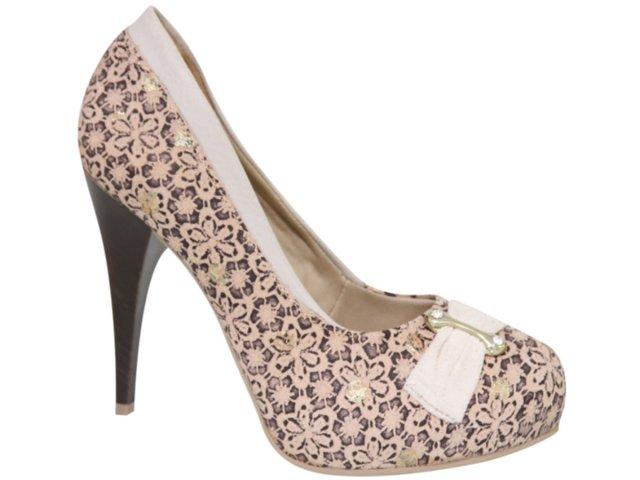 Sapato Feminino Dakota 1801 Avelã