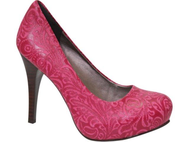 Sapato Feminino Tanara 0942 Pink