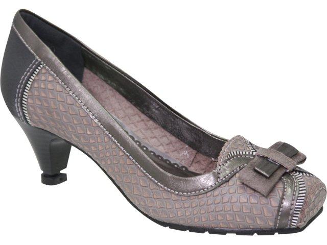 Sapato Feminino Dakota 2123 Cinza