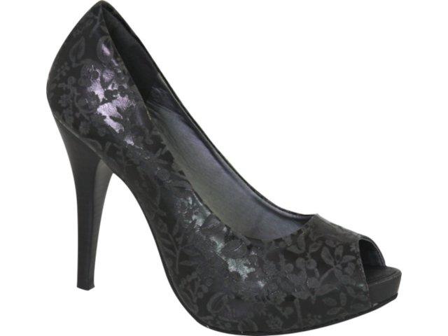 Sapato Feminino Tanara 1671 Preto