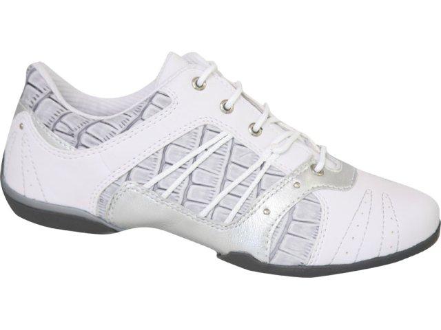 Tênis Feminino Kolosh 9502 Branco/cinza