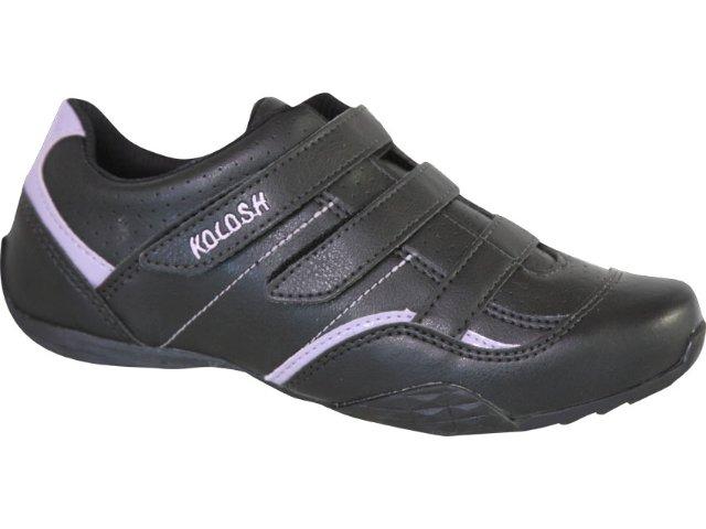 Tênis Feminino Kolosh 9352 Preto/violeta