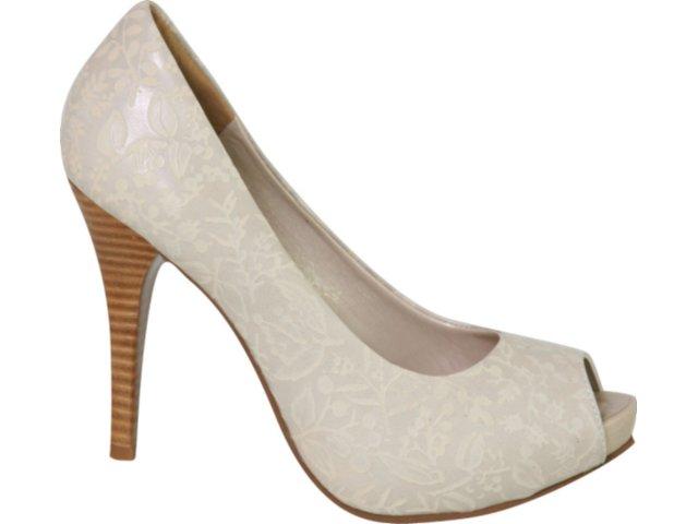 Sapato Feminino Tanara 1671 Fibra