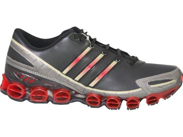 Tênis Masculino Adidas Rava mb G06050 Preto/vermelho