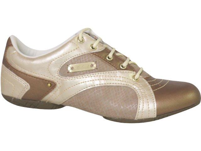 Tênis Feminino Kolosh 7232 Bronze