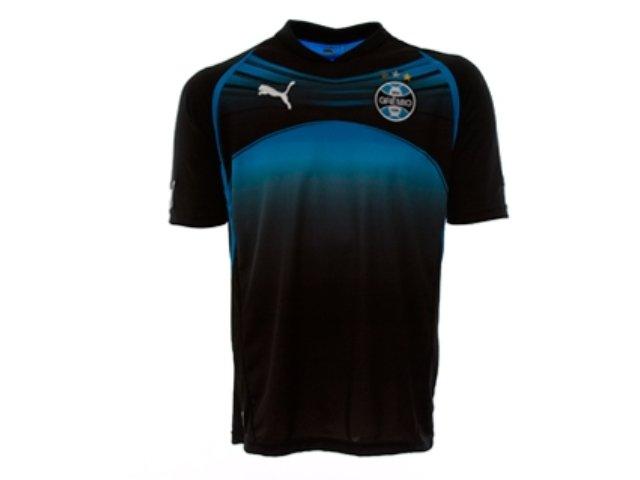 Camiseta Masculina Grêmio C5020m Preto/azul