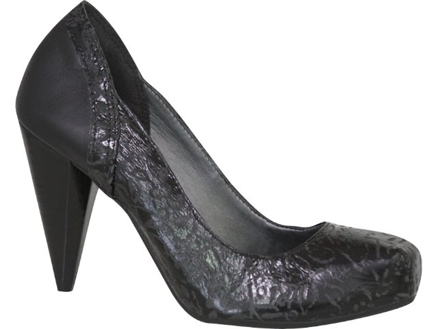 Sapato Feminino Tanara 1691 Preto