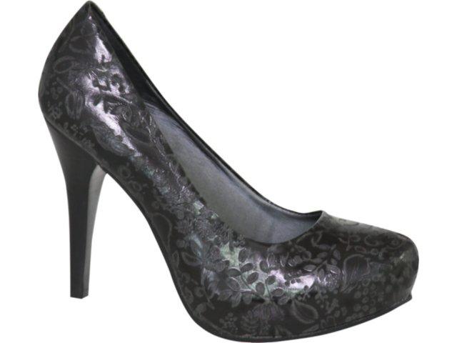Sapato Feminino Tanara 1672 Preto