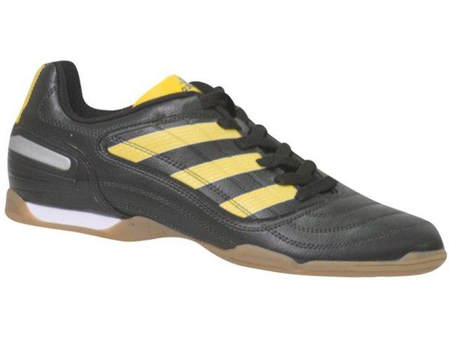 Tênis Masculino Adidas G25718 Predito x Preto/amarelo