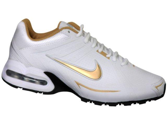 Tênis Feminino Nike Air Spear 390700-100 Branco/ouro