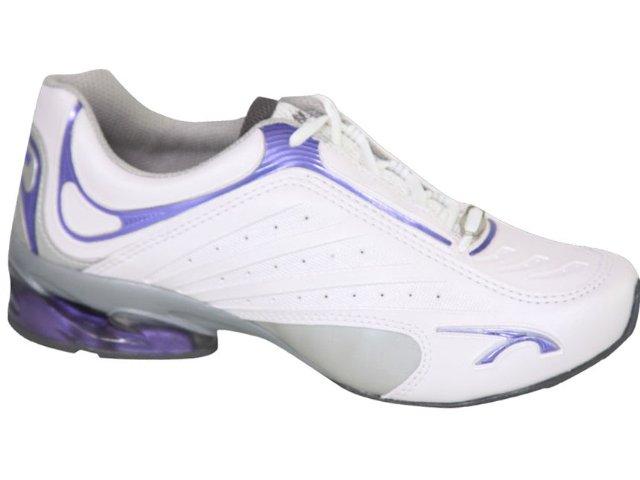 Tênis Feminino Kolosh 9551 Branco/lilas