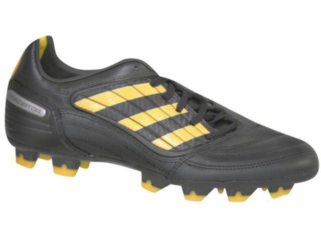 Chuteira Masculina Adidas Absolado Xg14206 Preto/amarelo