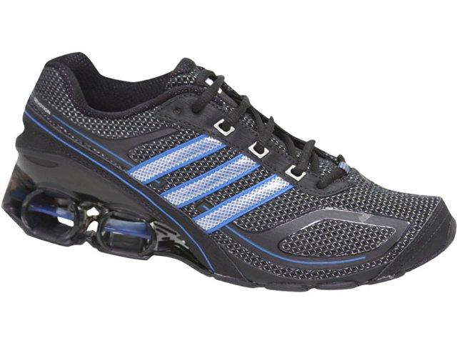Tênis Masculino Adidas Devotion G12218 Preto/azul